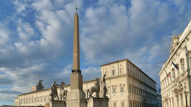 Piazza del Quirinale Roma